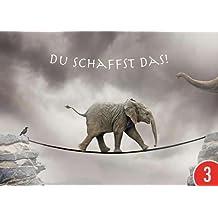 Suchergebnis Auf Amazonde Für Postkarte Du Schaffst Das
