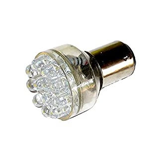 ANCOR LED Doppel Kontakt Bajonett Glühlampe–Weiß–12V
