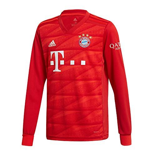 adidas Kinder FC Bayern München Home Langarm Trikot 2019/20 FCB True RED 152