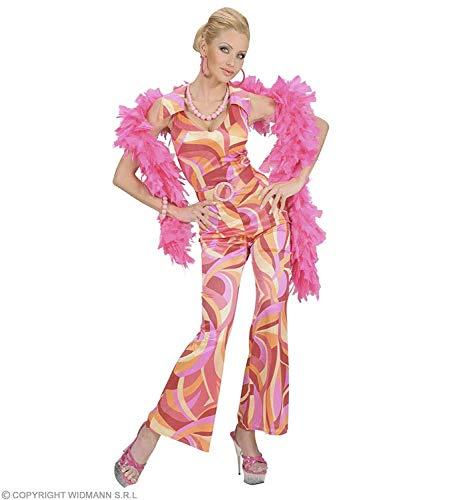 70's Kostüm Kinder Disco - Widmann s.r.l. Blauer Disco-Kostüm Overall für Damen S