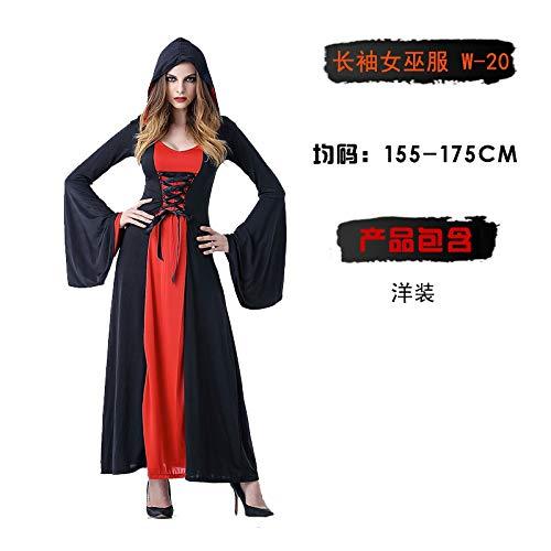 MYing Halloween-Kostüm Adult Hexe Cosplay Show Fledermaus Rotkäppchen Piraten Vampir Prinzessin Kleid weiblich-11