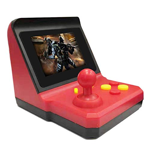 gaeruite Handheld-Spielekonsole, 600 in 1 Retro Mini-Arcade-Spiel 64-Bit-Spielbetriebssystem SUP Rocker Recreational Machines