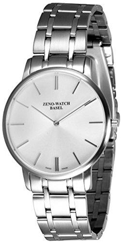 Zeno-Watch Orologio Donna - Flat Flatline 2 gray - 6600Q-c3M