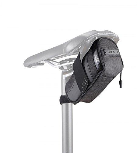 GiANT Tasche Schwarz Fahrrad Satteldecke Bike Seat Bag Tasche Schwarz MTB Geldbörse Road