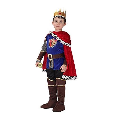 Roi Costume De Déguisement Pour Enfants - MagiDeal Set Enfant Déguisement Costume Roi Médiéval