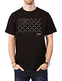Twenty One Pilots 21 T Shirt Mens Clique Fancy Band Logo Black Official