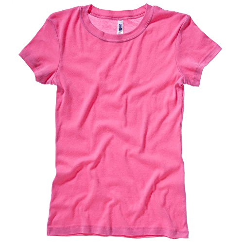 Bella CanvasDamen T-Shirt Rosa - beere