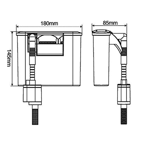 Sunsun HBL-303 Hang on Filter Anhängefilter 350 L/h bis 40 L Aquarium Filter - 7