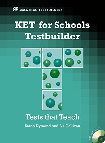 Ket for Schools Testbuilder.Student's Bo by Sarah Dymond (4-Feb-2011) Paperback
