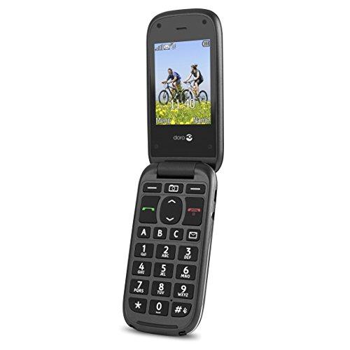 Doro PhoneEasy 613 (schwarz-Glossy)
