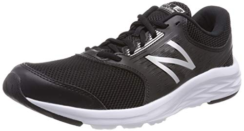 New Balance 411 Scarpe Running Uomo, Nero Black, 42.5 EU