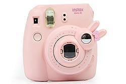 Taiyaun Mini Selfie Objektiv Für Fujifilm Instax Mini 8 8+ Fujifilm Instax Mini 9 Fujifilm Instax Mini 7s (Rosa ,Mini8 Mini 7skaninchen)