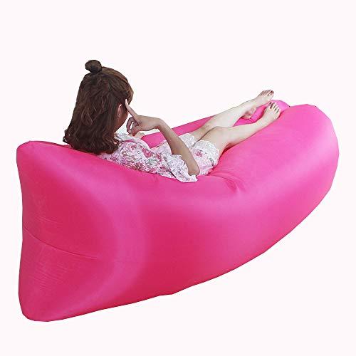 Mmtc letto pigro gonfiabile portatile del letto di aria della spiaggia gonfiabile all'aperto dell'aria del sofà pigro,3