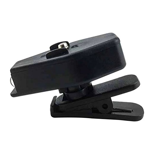 LEDMOMO Mini LED Taschenlampe kleine tragbare Licht mit Clip für Camping lesen Reparatur Angeln (schwarz)