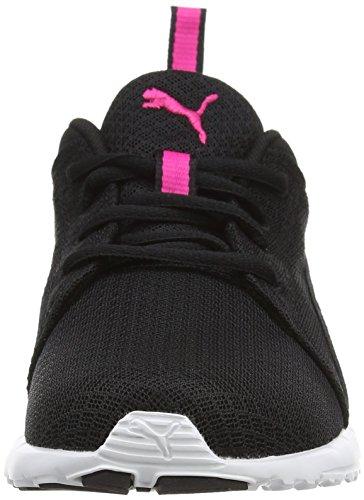 Puma Carson Mesh Wn's, Scarpe Da Atletica Leggera Donna Nero (BLACK/PINK 03BLACK/PINK 03)
