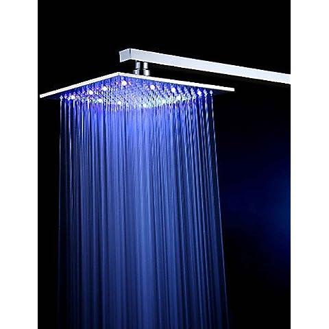 LONG-American Standard Doccia a pioggia Contemporaneo LED/Effetto