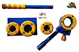#3: Tools Centre Hand Pipe Threader Ratchet Pipe Die Tool Set (1/2