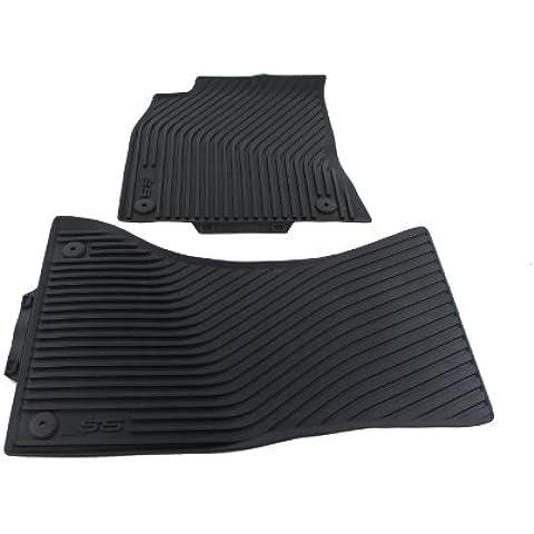 Tappetini in gomma tappetini in gomma originali Audi S5A5Coupé Sportback Cabrio all-weather 2pezzi anteriore 8t1061221a 041