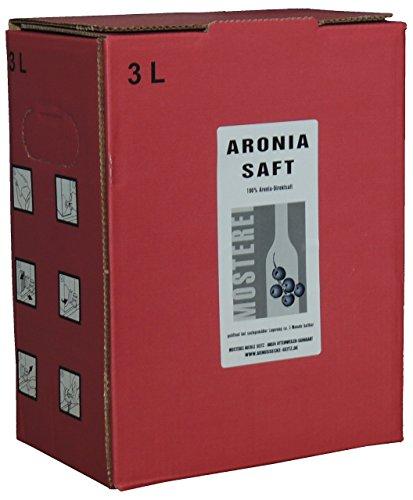 Aronia-Saft Direktsaft 3L Bag in Box