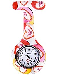 ShopyStore Style 3 Shellhard Fashion Prints Colorful Nurses Watches Doctor Portable Fob Pocket Wat