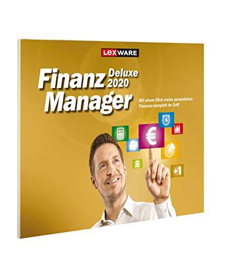 Lexware FinanzManager Deluxe 2020 in frustfreier Verpackung Einfache Buchhaltungs-Software für private Finanzen und Wertpapier-Handel Kompatibel mit Windows 7 oder aktueller