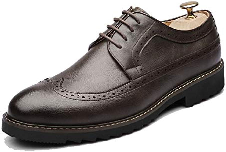 Yajie-scarpe, Scarpe Oxford da Uomo alla Moda, scolpiture Classiche Casual Che respingono Le Scarpe Brogue in Stile... | Arte Squisita  | Uomini/Donna Scarpa