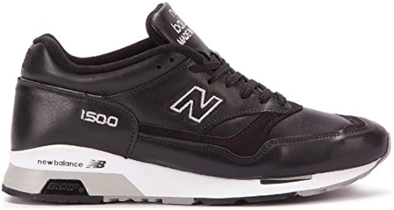 New Balance 1500 M1500BK weisse: D Made in England Sneaker LTD schwarz/weissszlig/grau