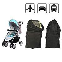 Dsaren Stroller Travel Bag for Air Travel Baby Gate Check Bags for Standard Strollers (B)