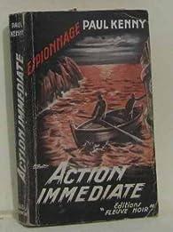 Coplan, tome 19 : Action immédiate par Paul Kenny