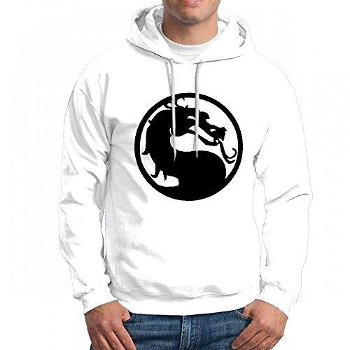 Custom Mortal Kombat Men's Pullover Logo Hoodie Custom Sweater