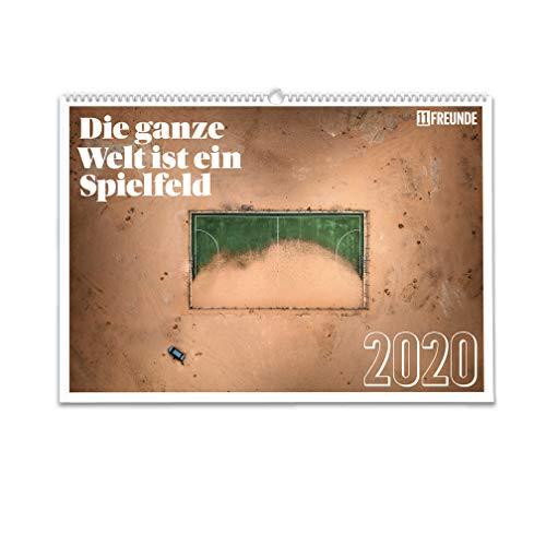 Die ganze Welt ist ein Spielfeld 2020: Der Wandkalender von 11FREUNDE
