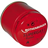 Rothenberger 035901-A - Cartucho gas butano c200 190ml con válvula seguridad