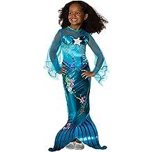 Rubies - Disfraz de sirena infantil, talla M (882718-M)