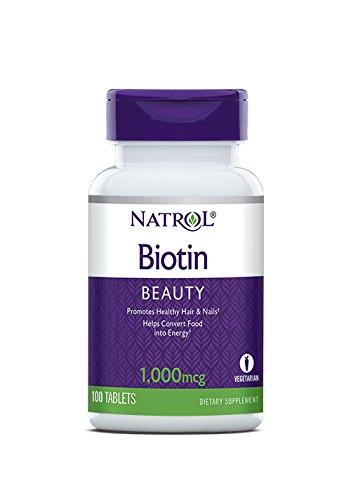 Natrol Biotin 10,000 mcg Maximum Strength 100 - Tablets