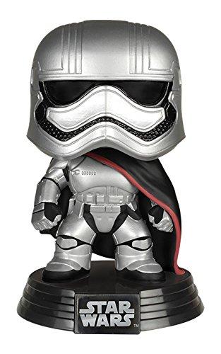 Star Wars- Figura de Vinilo Captain Phasma, Multicolor, Talla única (Funko 6226)