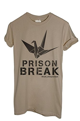 T-Shirt PRISON BREAK - FILM by iMage Dress Your Style - Uomo-M-SABBIA
