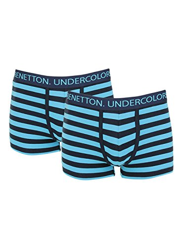 United Colors Of Benetton Men's Cotton Trunk - Assorted*- (pack Of 2) 008di Color Dispatch Random*