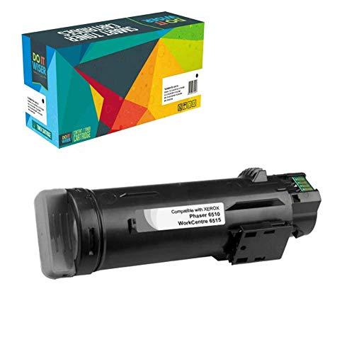 Do it Wiser Toner Kompatibel 106R03480 für Xerox WorkCentre 6515DN 6515 6515DNI 6515DNM 6515N | Phaser 6510 6510DN 6510DNI 6510DNM 6510N - Schwarz