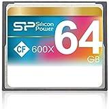 Silicon Power Compact Flash Card 64GB Hi-spe ed 600 x Retail, SPO64GBCFC600V10 (ed 600 x Retail)