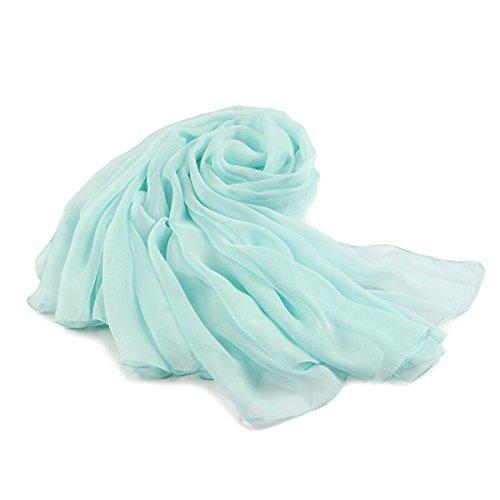 Mme Spring Et écharpe Châle écharpe écharpe D'automne Longue Section De Serviettes De Plage Blue5