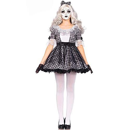 Damen Halloween Kostüm Rolle Spielen Circus Ghost Braut Hexe Vampir Kostüm Party Kostüm ()