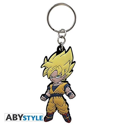 Llavero Dragon Ball Goku Pvc