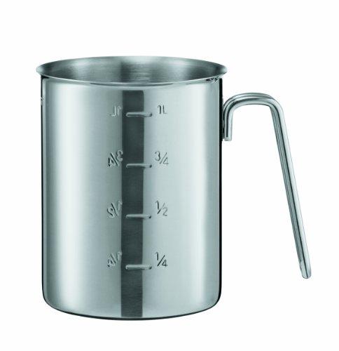 Rösle 24038 Gastro Messbecher 1000 ml, 12 cm Durchmesser