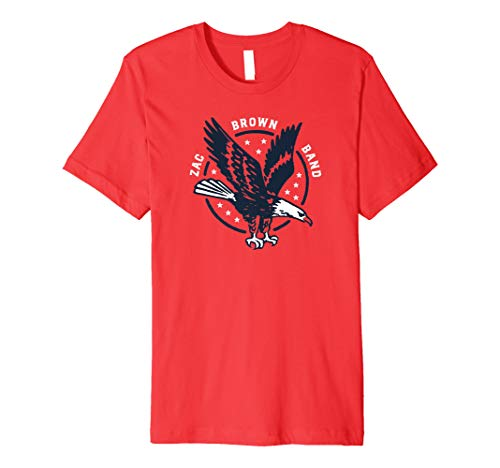 Zac Brown Band - Veterans Day Flying Eagle T-shirt