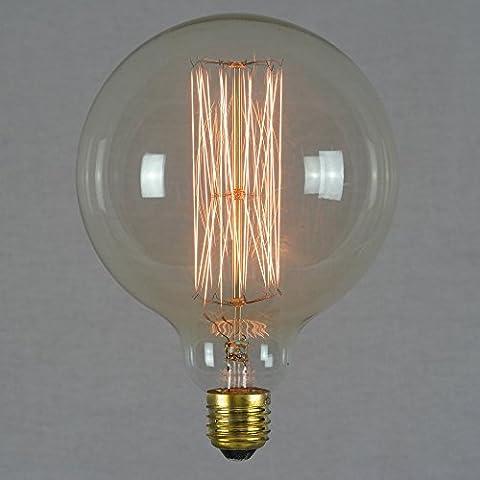 Lampadina Edison 60W - Globo Gigante 125mm Vintage Industriale E27