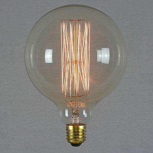 Preisvergleich Produktbild Vintage Edison Light Bulb 60w - Giant Squirrel Cage Globe 125mm E27 - The Retro Boutique ®