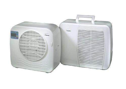 Euromac AC2400 EUROM AC2400 Klimaanlage Split Klimagerät für Wohnwagen Caravan Wohnmobil Reisemobil (375 W, 55 dB, 18.5 cm, 36 cm, 39.5 cm, 55 dB)