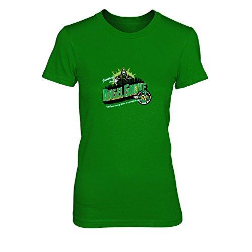 Grove Green - Damen T-Shirt, Größe: XL, Farbe: grün (Grünen Mighty Morphin Kostüm)