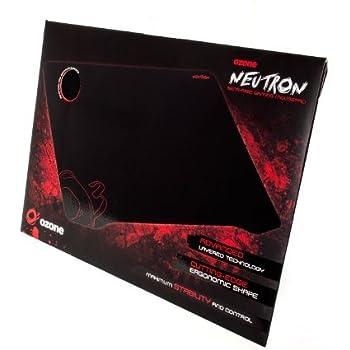 Ozone Neutron Tapis de souris semi rigide Gaming Noir