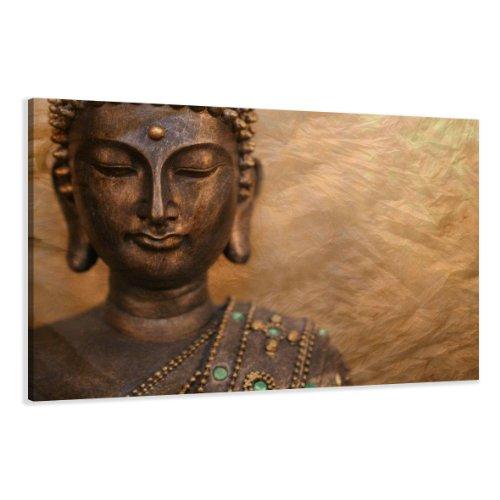 120 x 80 cm cuadro en lienzo buda 5041-SCT – imagen / impresion / pintura listo para colgar